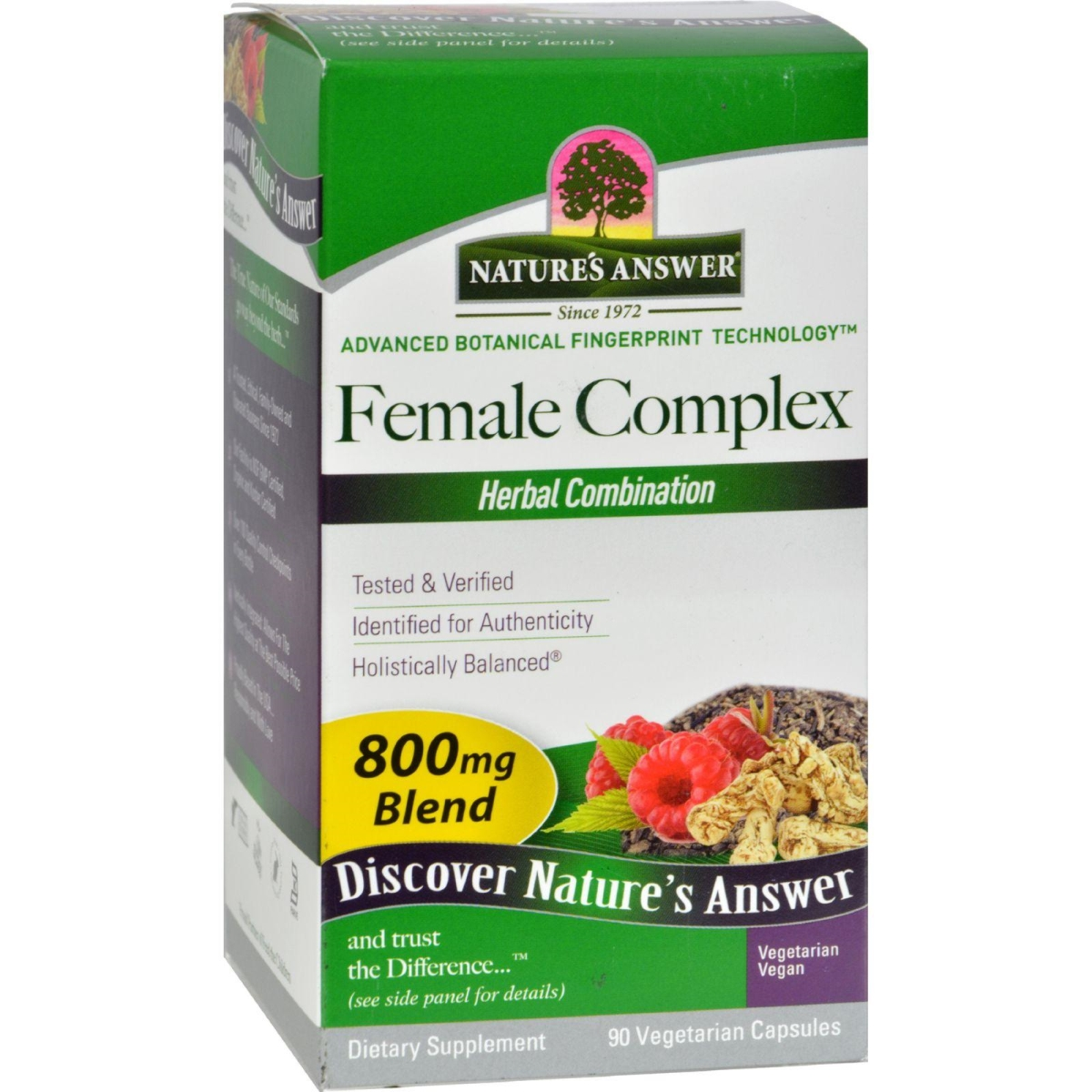 Natures Answer HG0123349 Female Complex 90 Vcaps