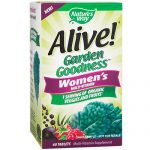 Natures Way 1531115 Alive Garden Goodness for Womens - 60 Tablets Case of 12