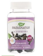 Natures Way 1532853 Sambucus Kids Gummies 60 Count