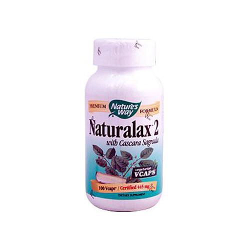 Natures Way HG0388603 Naturalax 2 with Cascara Sagrada 100 Vcaps