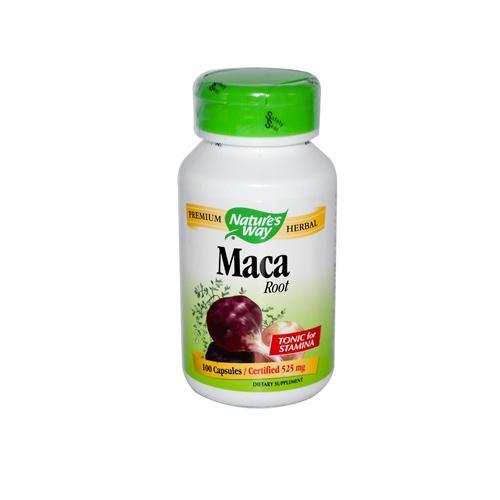 Natures Way HG0496273 Maca Root - 100 Capsules
