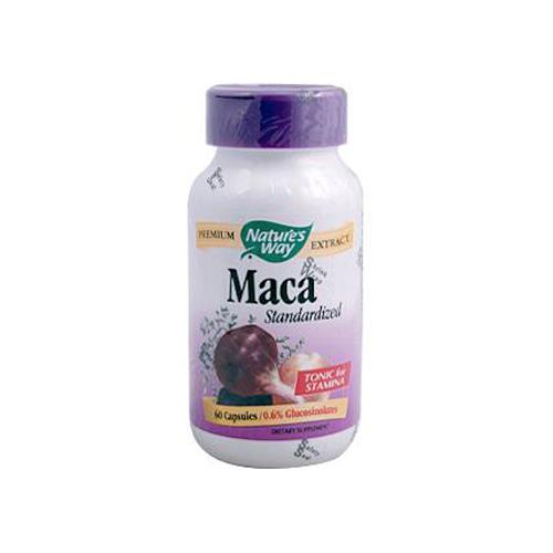 Natures Way HG0899971 Maca Standardized - 60 Capsules