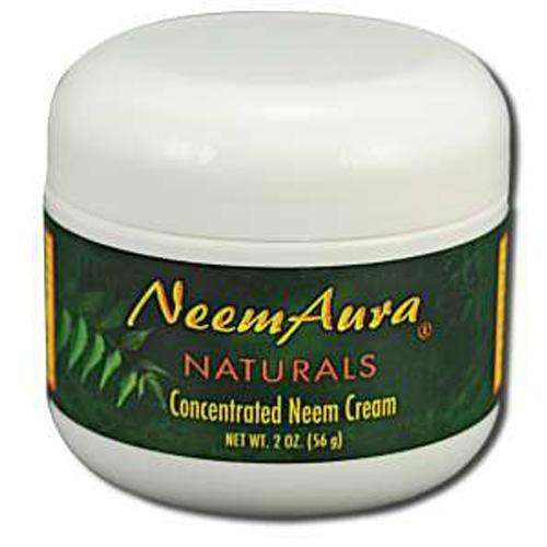 Neem Aura Naturals HG0812925 2 oz Neem Creme with Aloe & Neem Oil