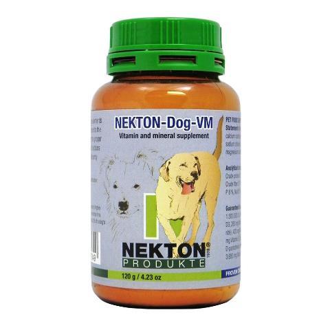 Nekton 277150 Dog Canine Vitamin & Mineral Supplement - 120 g