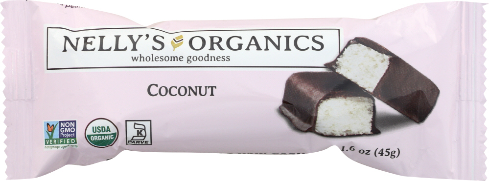 Nellysener KHFM00278946 Bar Coconut Chocolate Organic - 1.6 oz