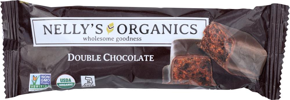 Nellysener KHFM00278948 Bar Double Chocolate Organic - 1.6 oz