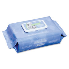 Nice Pak Commercial NICPNCW077233 Baby Wipes Unscented Latex -Free 6.6 in. x 7.9 in. 80-PK BE