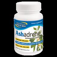 North American Herb & Spice 231670 Ashadrene - 60 Capsules Case of 12