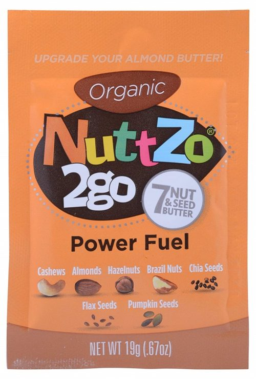 Nuttzo 179630 Organic Butter Multi Nuts - Power Fuel 0.67 oz - Pack of 10