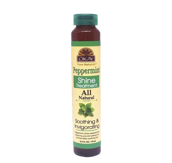OKAY OKAY-PEPST1 0.6 oz 18 ml Peppermint Shine Treatment