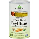 Organic India HG0801696 12 oz Fiber Harmony Psyllium Whole Husk