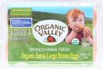 Organic Valley KHFM00702944 California Extra Large Eggs - 0.5 D ozen