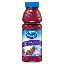 Pepsico PEP70193 Ocean Spray Cran-Grape Juice Drink 12 Per Carton