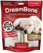 Petmatrix 50510204 DreamBone Chicken Dog Chew - Large - Pack of 3