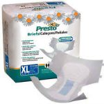 Presto Absorbent PRTABB30050 58 - 64 in. Presto Breathable Brief Ultimate Absorbency - Extra Large