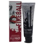 Pulp Riot U-HC-11668 4 oz Semi Permanent Hair Color for Unisex Red