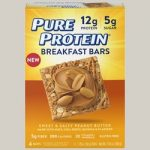 Pure Protein 440152 Breakfast Bars - Sweet & Salty Peanut Butter 6 Bars
