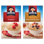 Quaker Foods QKR01190 Instant Oatmeal 10 Packets-BX Maple Brown Sugar