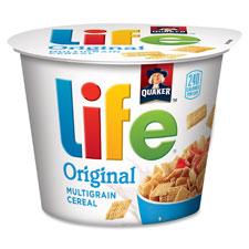 Quaker Foods QKR31600 Life Original Multigrain Cereal Bowl 12 Per Count