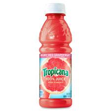 Quaker Foods QKR75716 Tropicana Red Grapefruit Juice 24 Per Count