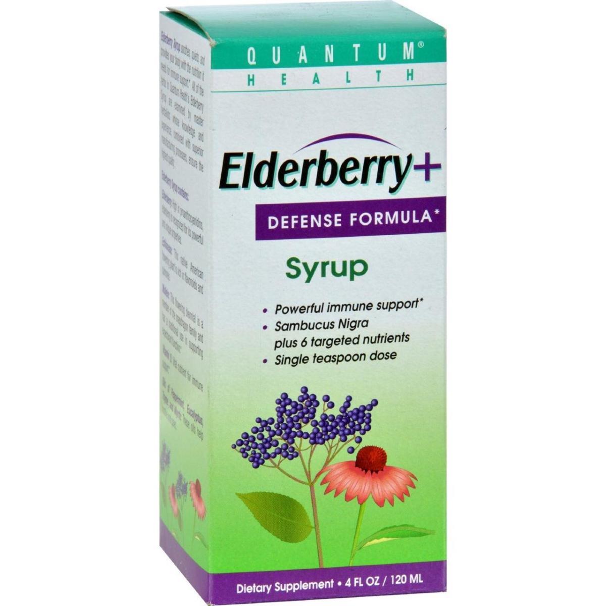 Quantum Research HG0518845 4 fl oz Elderberry Syrup