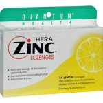 Quantum Research HG0709303 14 mg Quantum Therazinc Cold Season Plus Lozenges Lemon - 24 Lozenges