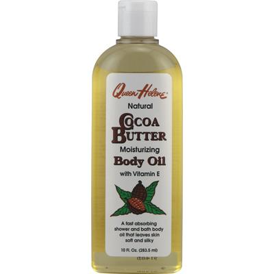 Queen Helene Natural Cocoa Butter Moisturizing Body Oil - 10 fl oz