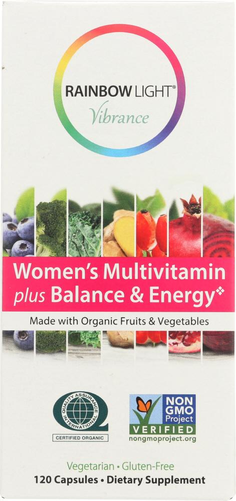 Rainbow Light Vibrance KHFM00292667 Vibrance Vitamin Womens Balance Energy 120 Capsule