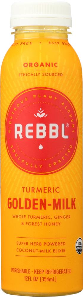 Rebbl KHFM00274567 Elixir Turmeric Golden Milk Organic - 12 fl oz