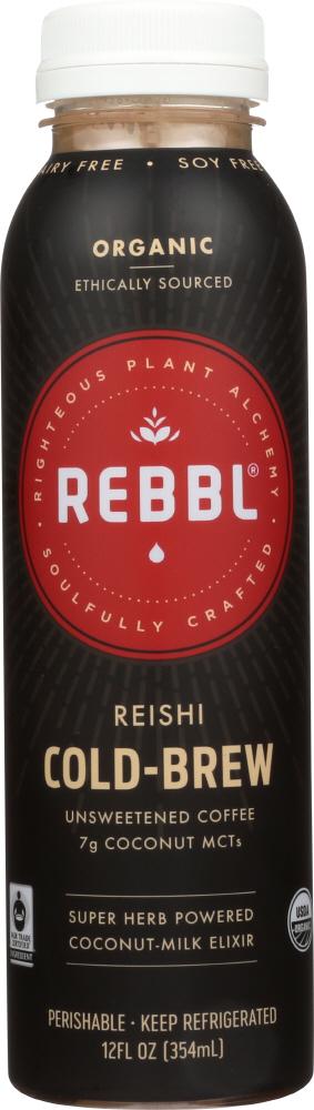 Rebbl KHFM00306096 Elixir Reishi Cold Brew - 12 fl oz