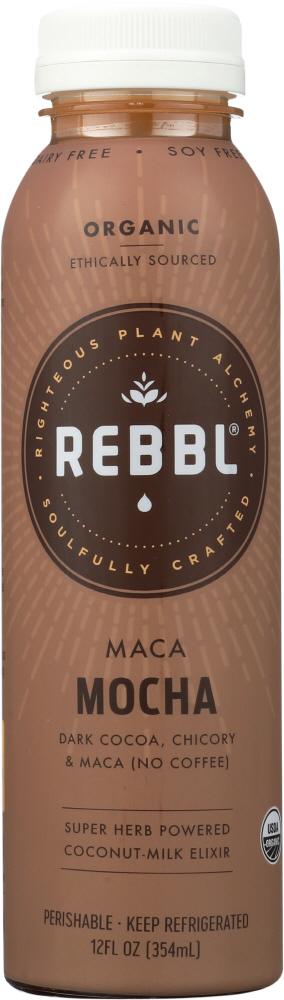 Rebbl KHFM00361071 Elixir Maca Mocha Organic - 12 oz