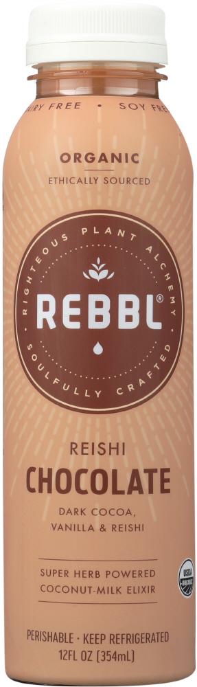 Rebbl KHFM00361105 Elixir Reishi Chocolate Organic - 12 oz