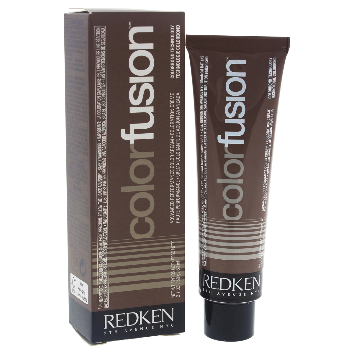 Redken U-HC-11725 2.1 oz Color Fusion Cream No. 3 Natural Balance Neutral Hair Color for Unisex
