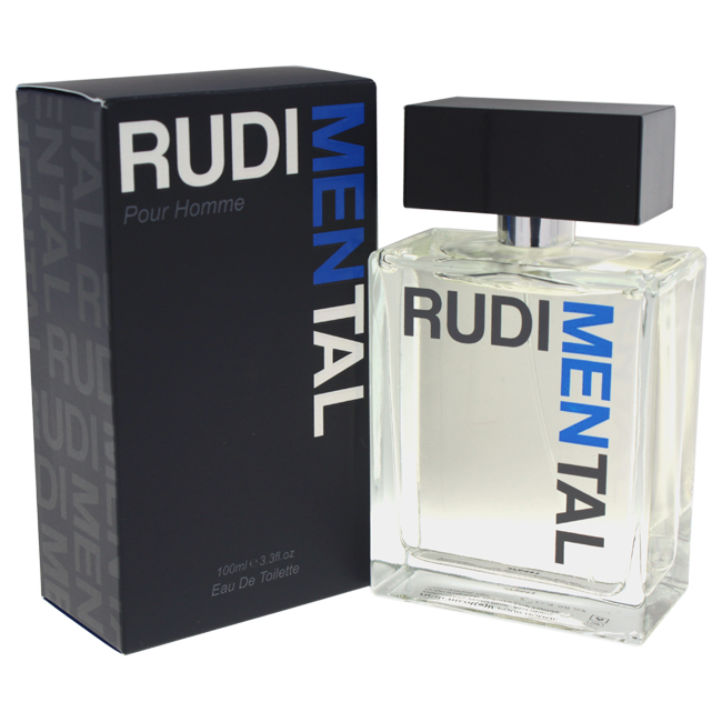 Rudimental M-5575 3.3 oz Blue Eau De Toilette Spray for Men