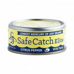Safe Catch 2109916 5 oz Citrus Pepper Elite Wild Tuna - Case of 6