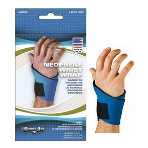 Scott Specialties SSSA9013BLUUN Sportaid Wrist Brace Neoprene - Blue Universal
