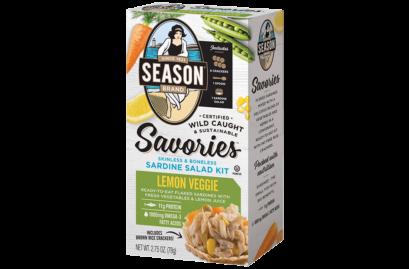 Seasons KHFM00313196 Sardine Salad Kit Lemon Veggie - 2.75 oz