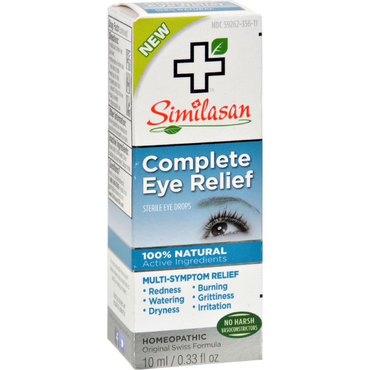 Similasan HG1510239 0.33 oz Eye Drops - Complete Relief