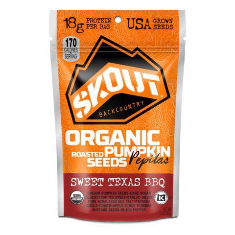 Skout 315926 Sweet Texas BBQ Pumpkin Seeds 1.1 oz - Pack of 10