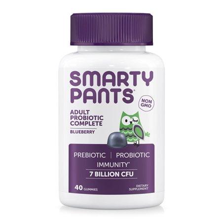 Smartypants 300862 Adult Probiotic Complete - Blueberry 40 Piece