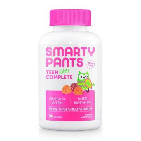 Smartypants 306376 Teen Girl Complete Multivitamin Gummy 90 Piece