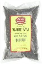 Spicy World Peppercorn Whole-Black Tellicherry 16 Oz. bag