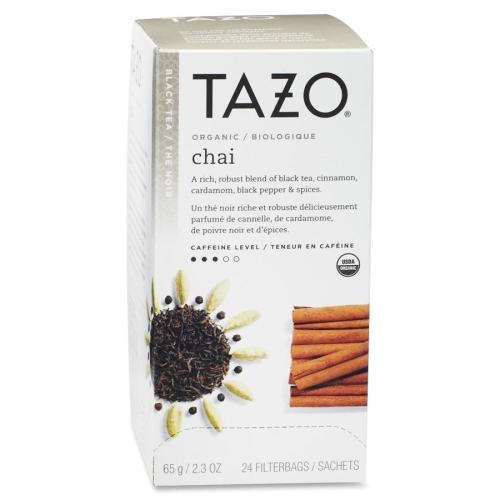 Starbucks SBK149904 Tazo Chai Spice Tea Black 24- BX