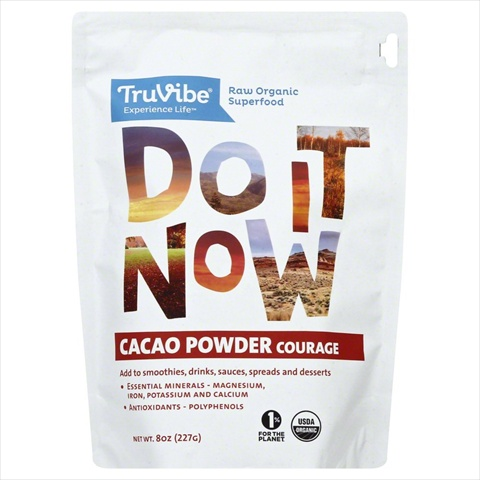TRUVIBE CACAO POWDER ORG-8 OZ -Pack of 1