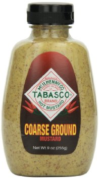 Tabasco 307865 Coarse Ground Mustard 12 oz - Pack of 6