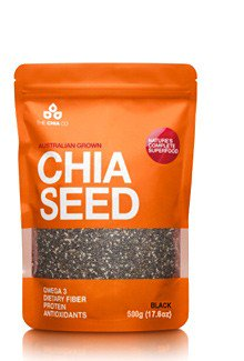 The Chia Co Black Chia 17.6 Ounces - -Pack of 1