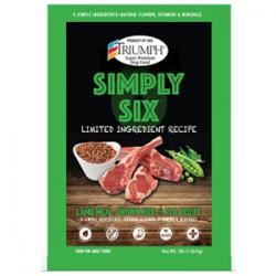 Triumph Pet 00893 3 lbs Triumph Simply Six Limited Ingredient Dog Food