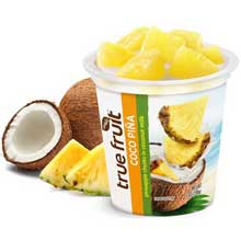 True Fruit KHFM00308547 Fruit Coconut Pina Single Serve - 7 oz