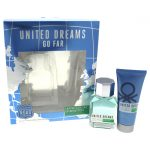 United Colors of Benetton M-GS-3291 Mens United Dreams Go Far Gift Set 2 Piece