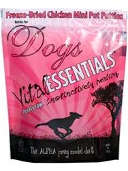 Vital Essentials 33211008961 Dog Freeze-Dried - Patties Chicken